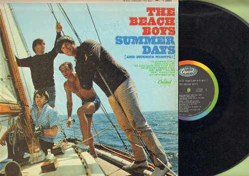 Beach Boys - Summer Days (And Summer Nights!!): California Gilrs, Then I Kissed Her, Salt Lake City, Help Me Rhonda (Vinyl MONO LP record) - EX8/EX8 - LP Records