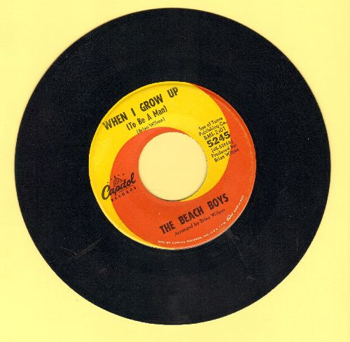 Beach Boys - When I Grow Up (To Be A Man)/She Knows Me Too Well  - EX8/ - 45 rpm Records