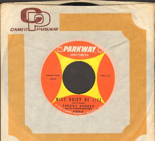 Bender, Freddy & The McGraw Brothers - Miss Daidy De Lite/Let's Twist Again (FANTASTIC Novelty two-sider with Parkway company sleeve) - NM9/ - 45 rpm Records