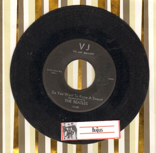 Beatles - Do You Want To Know A Secret/Thank You Girl - VG6/ - 45 rpm Records