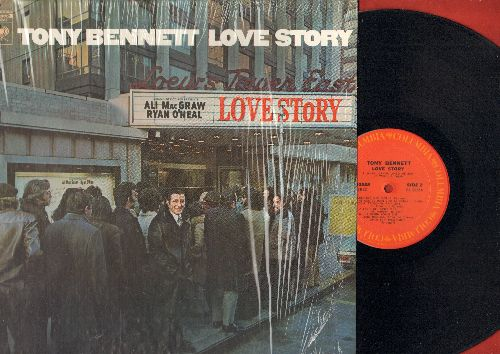 Bennett, Tony - Love Story: When Joanna Loved Me, A Taste Of Honey, Tea For Two, I Want To Be Happy, They Can't Take That Away From Me (Vinyl STEREO LP record) - NM9/NM9 - LP Records