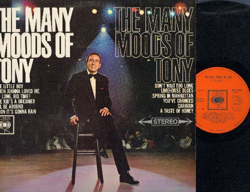 Bennett, Tony - The Many Moods Of Tony: The Little Boy, Caravan, A Taste Of Honey, I'll Be Around (vinyl STEREO LP record, British Pressing) - EX8/EX8 - LP Records