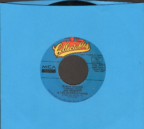 Bennett, Joe & The Sparkletones - Black Slacks/So Tough (by Original Casuals on flip-side) (re-issue) - EX8/ - 45 rpm Records