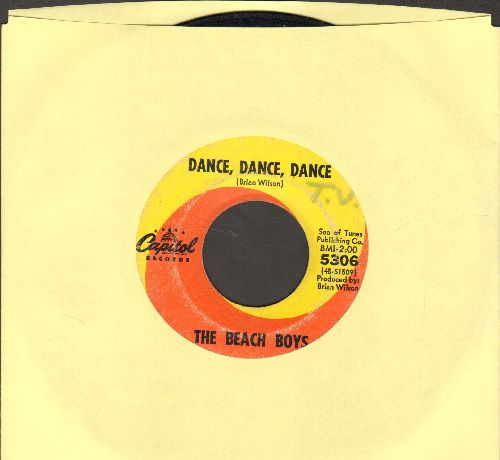 Beach Boys - Dance, Dance, Dance/The Warmth Of The Sun (minor wol) - VG7/ - 45 rpm Records