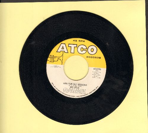 Bee Gees - Man For All Seasons/Lonely Days  - EX8/ - 45 rpm Records