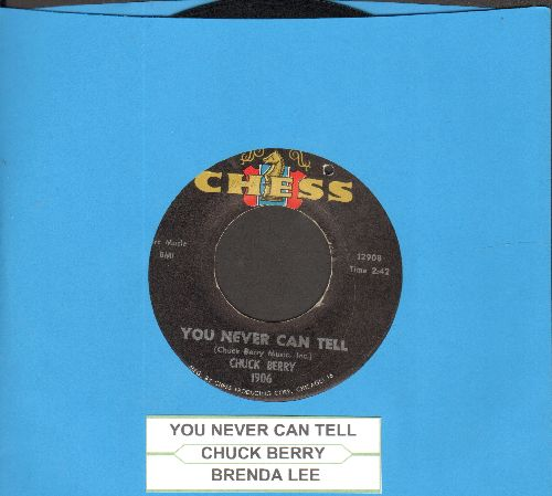 Berry, Chuck - You Never Can Tell (featured in Cult Classic -Pulp Fiction-)/Brenda Lee (with juke box label)(bb) - EX8/ - 45 rpm Records