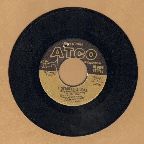 Bee Gees - I Started A Joke/Holiday (double-hit re-issue) (bb) - EX8/ - 45 rpm Records