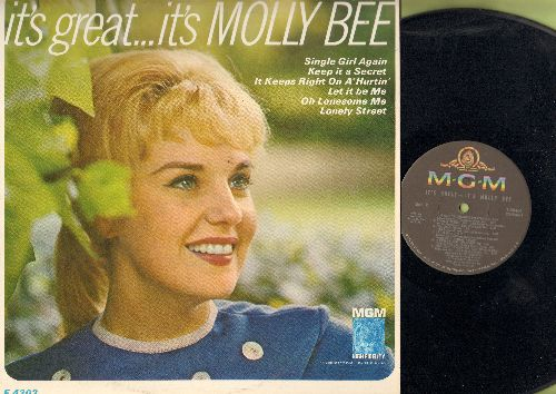 Bee, Molly - It's Great…It's Molly Bee: Single Girl Again, Let It Be Me, Lonely Street, Oh Lonesome Me (vinyl MONO LP record) - NM9/NM9 - LP Records