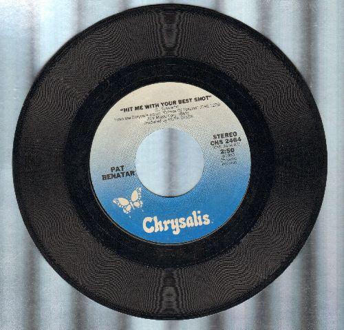 Benatar, Pat - Hit Me With Your Best Shot/Prisoner Of Love  - EX8/ - 45 rpm Records