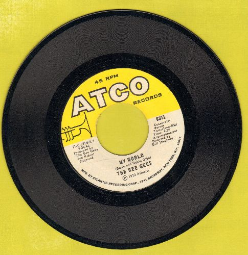 Bee Gees - My World/On Time (MINT condition) - M10/ - 45 rpm Records