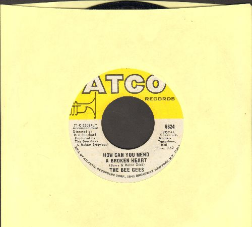 Bee Gees - How Can You Mend A Broken Heart/Country Woman (with Atco company sleeve) - EX8/ - 45 rpm Records