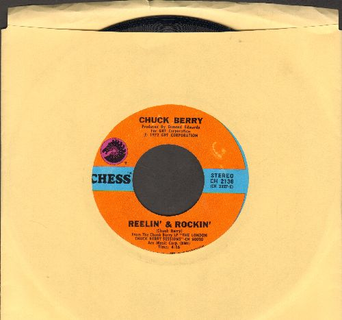 Berry, Chuck - Reelin' & Rockin'/Let's Boogie (1972 pressing) - NM9/ - 45 rpm Records