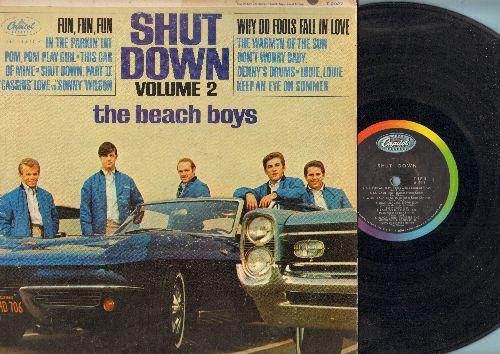 Beach Boys - Shut Down Vol. 2: Fun Fun Fun, Why Do Fools Fall In Love, Don't Worry Baby, Louie Louie (vinyl MONO LP record - VG7/VG6 - LP Records