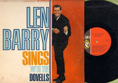 Barry, Len - Len Barry Sings With The Dovells: Miss Daisy De Lite, Bristol Stomp, 36-22-36, Jim Dandy (vinyl STEREO LP record) - NM9/VG7 - LP Records