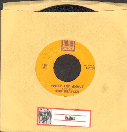 Beatles - Twist And Shout/There's A Place - VG7/ - 45 rpm Records