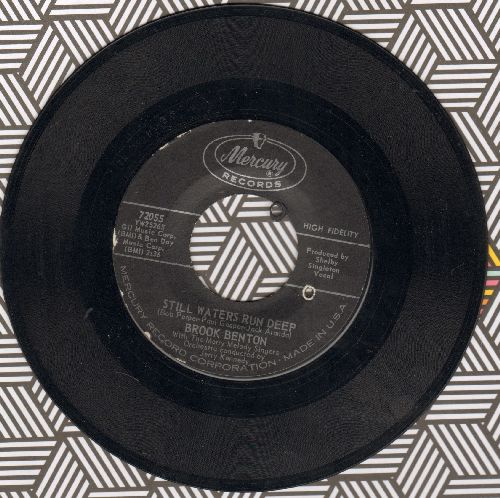 Benton, Brook - Still Waters Run Deep/Hotel Happiness (bb) - NM9/ - 45 rpm Records