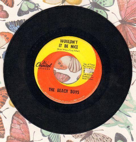 Beach Boys - Wouldn't It Be Nice/God Only Knows  - VG7/ - 45 rpm Records