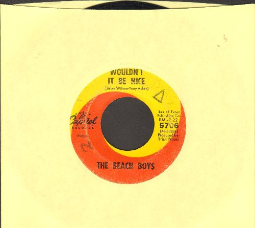 Beach Boys - Wouldn't It Be Nice/God Only Knows (wol) - VG7/ - 45 rpm Records