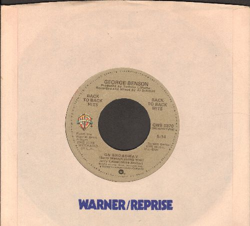 Benson, George - On Broadway/We As Love (with Warner Brothers company sleeve) - VG7/ - 45 rpm Records