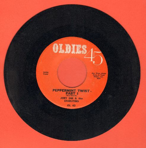 Dee, Joey & The Starliters - Peppermint Twist (Parts 1+2) (early re-issue) - VG7/ - 45 rpm Records