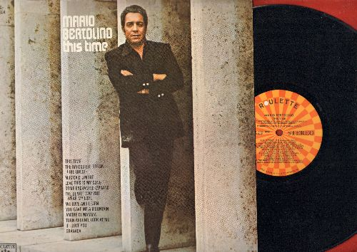 Bertolino, Mario - This Time: The Impossible Dream, If I Loved You, Love This Is My Song, Turn Around Look At Me (Vinyl STEREO LP record) - NM9/EX8 - LP Records