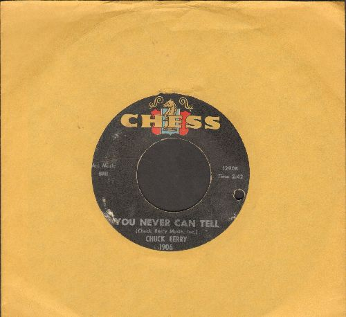 Berry, Chuck - You Never Can Tell/Brenda Lee (bb) - EX8/ - 45 rpm Records