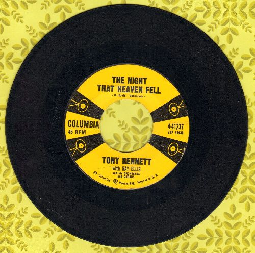 Bennett, Tony - The Night That Heaven Fell/Firefly - VG7/ - 45 rpm Records