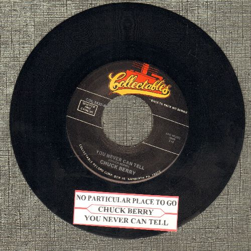 Berry, Chuck - No Particular Place To Go/You Never Can Tell (double-hit re-issue with juke box label) - EX8/ - 45 rpm Records