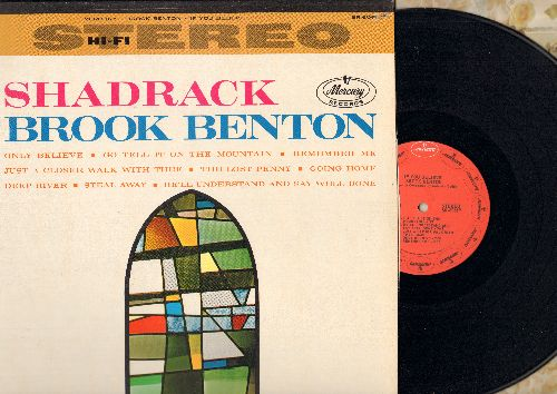 Benton, Brook - Shadrack - If You Believe: Go Tell It On The Mountain, The Lost Penny, Remember Me, Just A Closer Walk With Thee (vinyl STEREO LP record, 1980s re-issue) - NM9/EX8 - LP Records