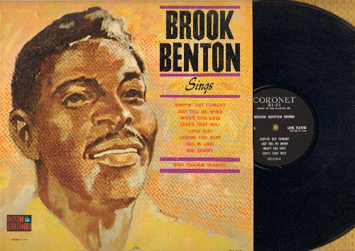 Benton, Brook - Brook Benton Sings: Just Tell Me When, The Thrill Is Gone, Steppin' Out Tonight, Be Careful It's My Heart, You Do Something To Me (vinyl LP record) - NM9/VG7 - LP Records