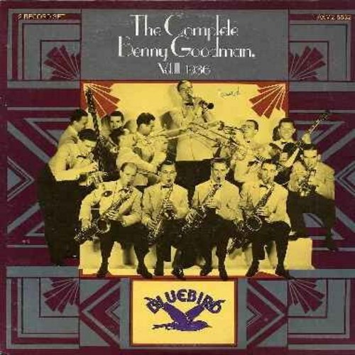 Goodman, Benny & His Orchestra - The Complete Benny Goodman Vol. III 1936: St. Louis Blues, Love Me Or Leave Me, Bugle Call Rag, Dinah, My Melancholy Baby, Stompin' At The Savoy, Alexander's Ragtime Band, Goodnight My Love, Tiger Rag (2 vinyl LP record se