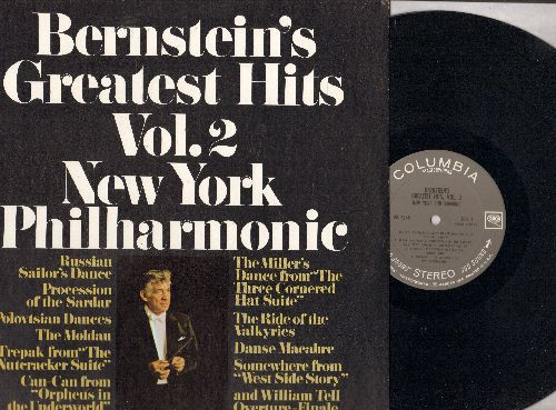 Bernstein, Leonard - Bernstein's Greatest Hits Vol. 2: Danse Macabre, Procession Of The Sardar, Russian Sailor Dance, Ride Of The Valkyries (Vinyl STEREO LP record) - NM9/NM9 - LP Records