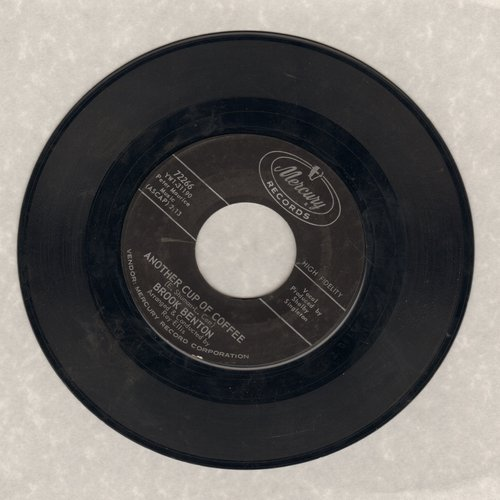 Benton, Brook - Another Cup Of Coffee/Too LateTo Turn Back Now - NM9/ - 45 rpm Records