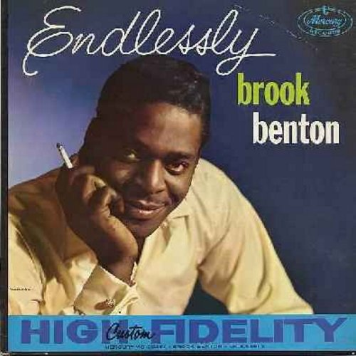 Benton, Brook - Endlessly: People Will Say We're In Love, Blue Skies, Time After Time, You'll Never Know, It's No Sin (Vinyl MONO LP record) - VG6/EX8 - LP Records