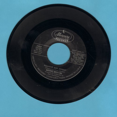 Benton, Brook - Frankie And Johnny/It's Just A House Without You - VG7/ - 45 rpm Records