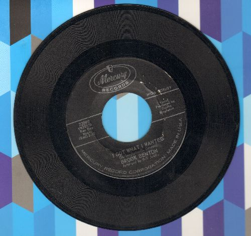 Benton, Brook - Dearer Than Life/Got What I Wanted (bb) - EX8/ - 45 rpm Records
