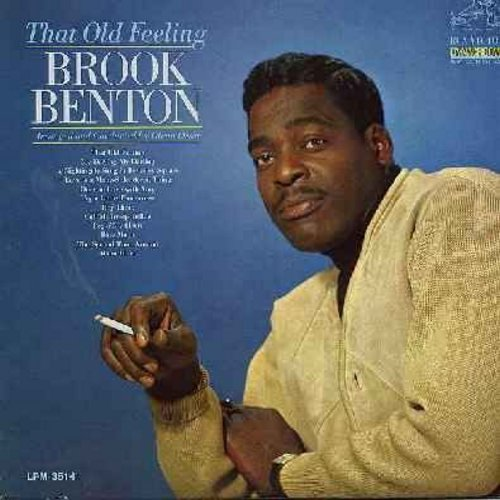 Benton, Brook - That Old Feeling: Love Is A Many-Splendored Thing, Hey There, Blue Moon, Once In Love With Amy, Moon River (Vinyl MONO LP record, DJ advance copy) - EX8/NM9 - LP Records