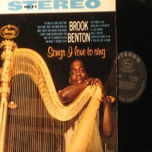 Benton, Brook - Songs I Love To Sing: September Song, Fools Rush In, It's Been A Long Long Time, They Can't Take That Away From Me (Vinyl STEREO LP record) - NM9/EX8 - LP Records