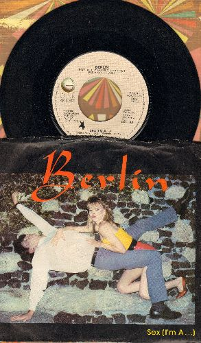 Berlin - Sexy (I'm A…)/Tell Me Why (with picture sleeve) - NM9/VG7 - 45 rpm Records