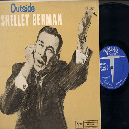 Berman, Shelley - Outside: More hilarious comedy by the pioneer in observational humor! (Vinyl LP record) - NM9/EX8 - LP Records