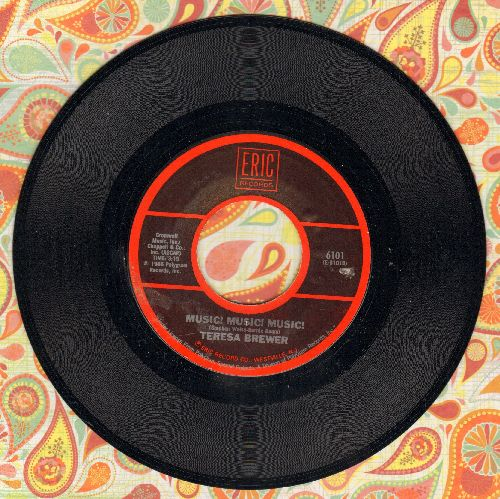Brewer, Teresa - Music, Music, Music/The Stripper (by David Rose & His Orchestra (re-issue of vintage recordings) - NM9/ - 45 rpm Records