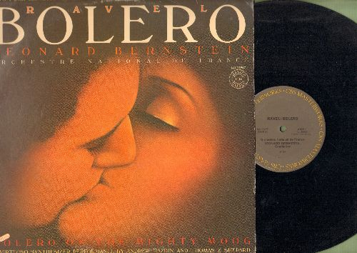 Bernstein, Leonard - Leonard Bernstein Conducts Ravel with Orchestra National de France: Bolero (15:35 minutes)/Alborada Del Gracioso (7:30)/La Valse (13:00) (Vinyl STEREO LP record) - EX8/EX8 - LP Records
