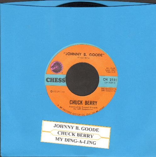 Berry, Chuck - My Ding-A-Ling/Johnny B. Goode (with juke box label) - NM9/ - 45 rpm Records