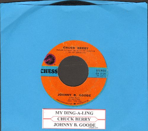 Berry, Chuck - My Ding-A-Ling/Johnny B. Goode (with juke box label) - VG6/ - 45 rpm Records