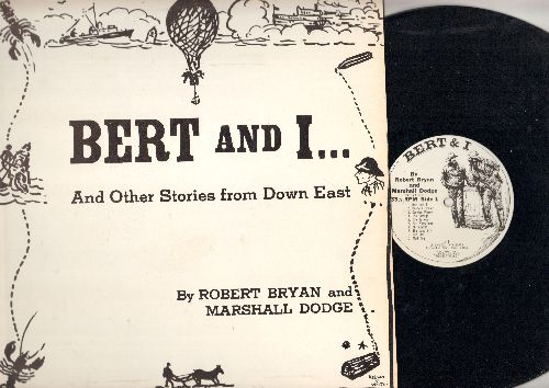 Bryan, Robert & Marshall Dodge - Bert And I…and other Stories from Down East (vinyl LP record, re-issue of vintage comedy recordings) - NM9/NM9 - LP Records
