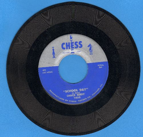 Berry, Chuck - School Day/Deep Feeling  - EX8/ - 45 rpm Records