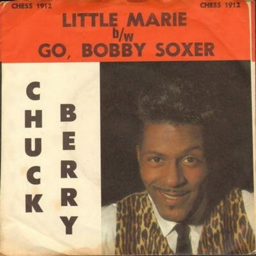 Berry, Chuck - Little Marie/Go, Bobby Soxer (with picture sleeve) - NM9/EX8 - 45 rpm Records