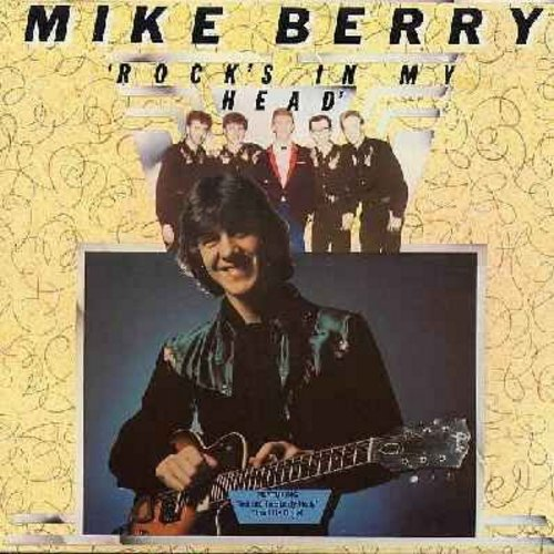 Berry, Mike - Rock's In My Head: Peggy Sue, Hey! Baby, Don't Be Cruel, That'll Be The Day (Vinyl STEREO LP record) (Mike Berry was a regular cast member on Brit-TV's popular comedy series -Are You Being Served-) - M10/EX8 - LP Records
