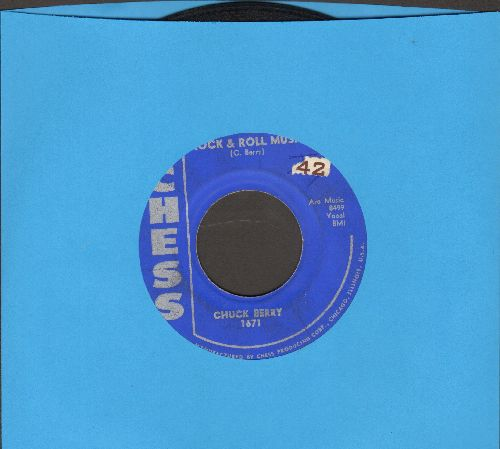 Berry, Chuck - Rock & Roll Music/Blue Feeling  - VG6/ - 45 rpm Records