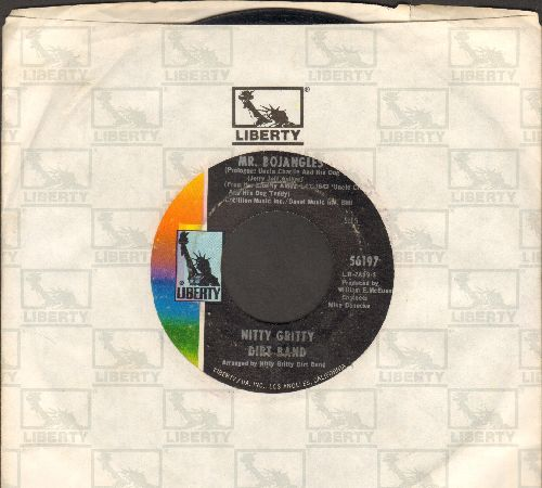 Nitty Gritty Dirt Band - Mr. Bojangles (LONG version and SHORT version with Liberty company sleeve) - VG7/ - 45 rpm Records